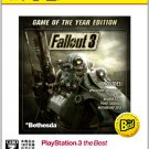 Fallout 3 (Game of the Year Edition) (PlayStation3 the Best) [Japan Import]