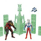 Bandai Ultraman City Series 03 Ultraman Zero VS Ultraman Berial