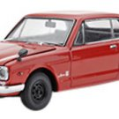 Kyosho - Nissan Skyline 2000 GT-R KPCG10 2 door Red (1/43 die cast K05516R)