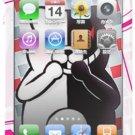 Des skin Dangan refute iphone4 02 (japan import)