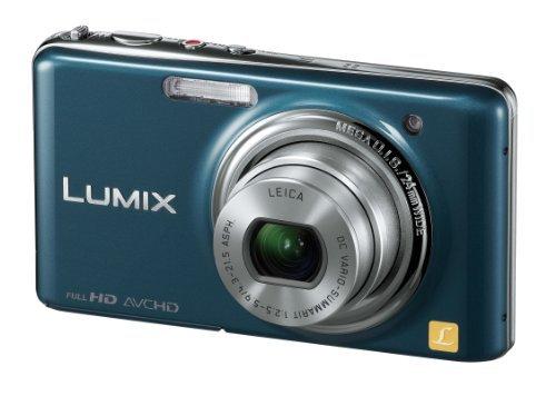 Panasonic Digital Camera LUMIX FX77 (Blue) DMC-FX77-A