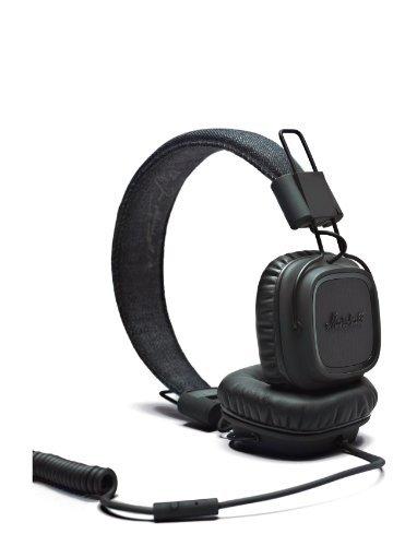 Marshall Major On-Ear Headphones Pitch Black