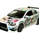Aoshima Super Sonico C-West Lancer Evolution X Street Ver. 1/24 scale Model Car