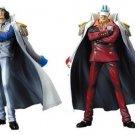 Banpresto One Piece DX Navy Figure vol.2 Akainu Sakazuki & Aokiji Kuzan