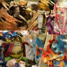 Banpure - One Piece Super Effect Shichibukai Jinbei Hancock Crocodile set 4
