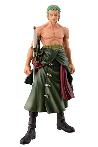 "Banpresto One Piece 10.2"" Zoro Figure, The Roronoa Zoro"
