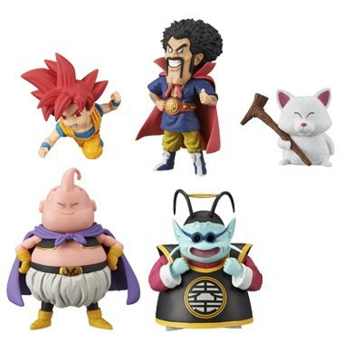 BANPRESTO Dragon ball super World collectable figure vol.2 set of 5