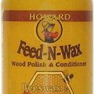 Howard FW0004 Feed-N-Wax Wood Polish and Conditioner 4.7-Ounce