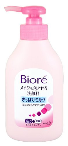 Biore Kao Make Mo Otoseru Facial Washing Foam Pump 200ml