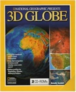 NATIONAL GEOGRAPHIC 3D GLOBE - 2CDS