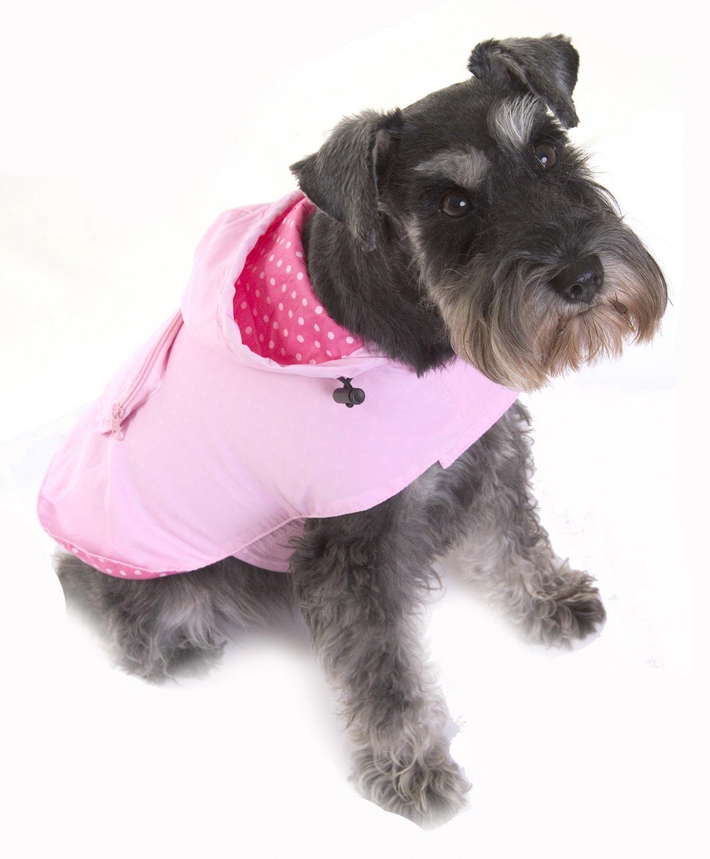 Pet Wear Designs Pac-a-mac in Pink