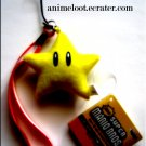 Super Mario Bros. Star Plush Strap