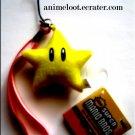 Super Mario Bros. Star Plush Strap