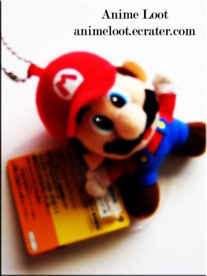 Super Mario Bros. Mario Plush Keychain