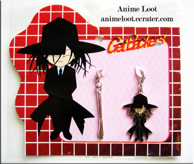 Get Backers Akabane Chibi Fastener Set