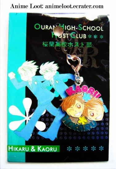 Ouran High School Host Club Kaoru and Hikaru Fastener