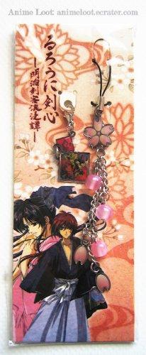 Rurouni Kenshin Rare Cherry Blossom Strap Style 2: Kenshin and Villains