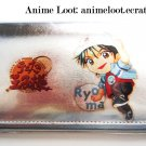 Prince of Tennis Ryoma Silver Long Wallet