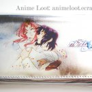 Gundam Seed Athrun and Lacus Silver Long Wallet