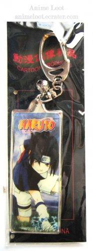 Naruto Sasuke Long Rectangular Keychain