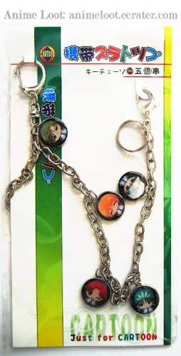 Prince of Tennis Chain Belt Strap Style 1: Chibi with Circular Charms