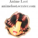 Prince of Tennis Eiji Style 3: Super Chibified Pin