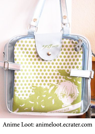 Tsubasa Reservoir Chronicles Rare Green Syaoran Handbag