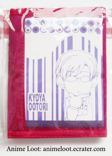 Ouran High School Host Club Magenta Kyoya Wallet