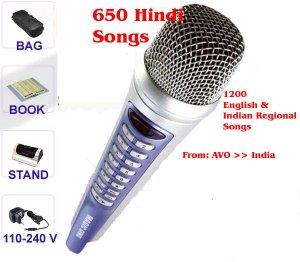 Magic Karaok with Hindi Song from AVO India
