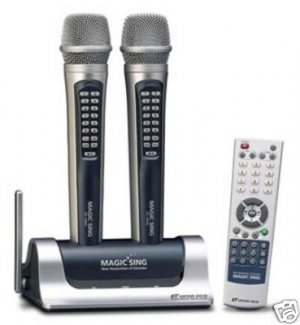 MAGIC MIC WIRELESS KARAOKE WITH HINDI SONGS EG18000
