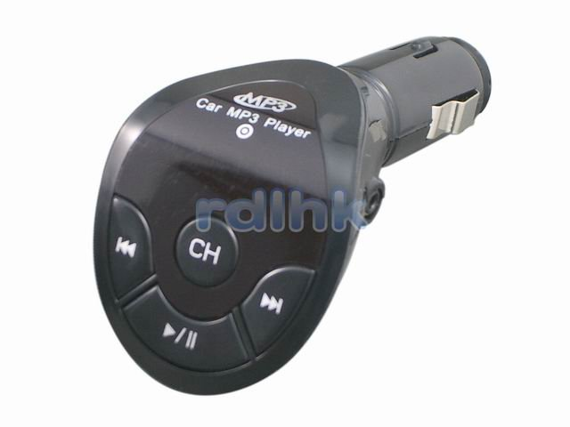 BLACK 205 CHANNELS FM TRANSMITTER FOR IPOD/USB FLASH DRIVE (RDL-ES-1886)