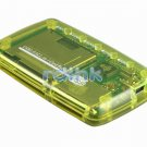 YELLOW ALL-IN-1 USB 2.0 CARD READER FOR MMC/MS/SD/XD