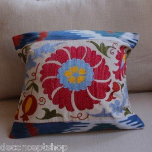Suzani & Ikat Pillowcover