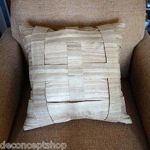 Decorative Silk Pillow cover