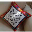 Decorative Cotton Pillowcover patchworkstyle