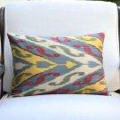 Ikat Silk Pillow Cover