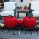 Handmaded Decorative Apples from Sisal