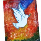 Name of the artwork : World peace (Dove)