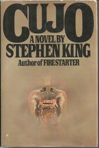 STEPHEN KING - Cujo - HBDJ - 1st/1st VG+ VG+