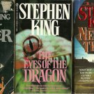 STEPHEN KING - Firestarter, Needful Things & Dragon PBs