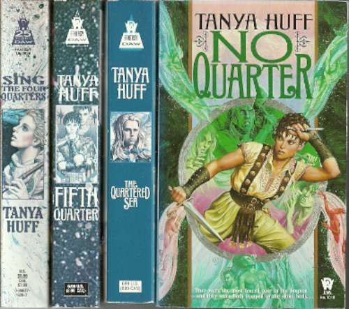 TANYA HUFF - The Quarters Quadrilogy - 4PBs
