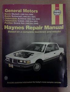 General Motors N-Cars, 1985-1998 by Richard Lindwall and John Haynes (2001,...