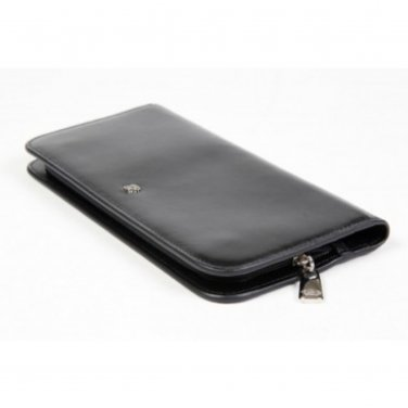 Hand Stained Leather Wallet