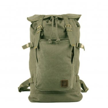 Vintage Military Style Canvas BackPack