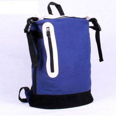 Bold Color Block Multi-function Backpack