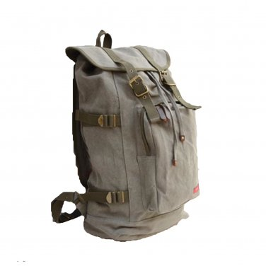 Washable Canvas Outdoor Backpack