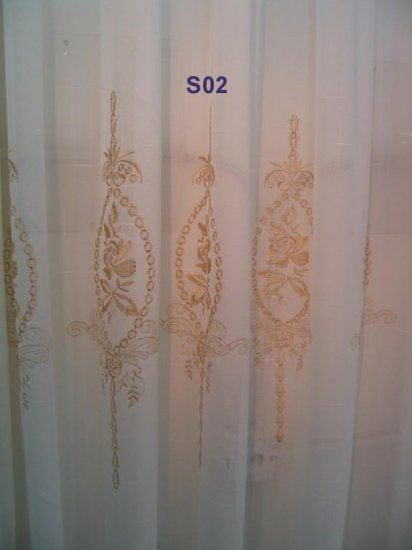 S02 Custom Sheer Drapes (Priced per ft by width)