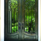 The Gothic Style---DED 011 Wrought Iron Doors
