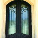 The Neoclassical Style DED-010 Wrought Iron Doors