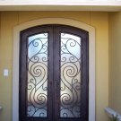 French Architectural Style DED-002 Iron Doors